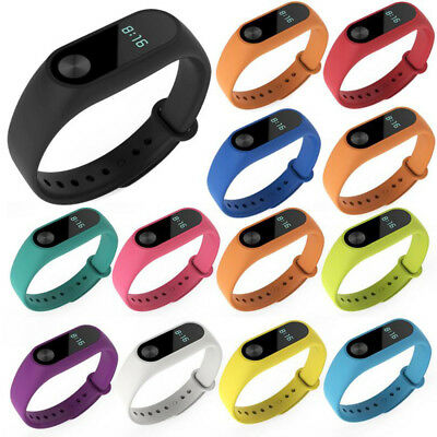 For Xiaomi Mi Band2 Wrist Strap Silicone Smart Bracelet Belt Colorful Wristband~
