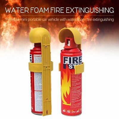 Portable Fire Extinguisher Professional Dry Powder Bracket Car Boat Home TW