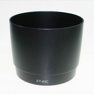ET-83C Camera Lens hood Shape for CANON EF 100-400mm F4.5-5.6L IS USM Lens