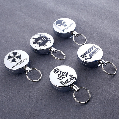 5D64 Telescopic Anti-theft Keychain With Keyring Key Chain High Quality Selling