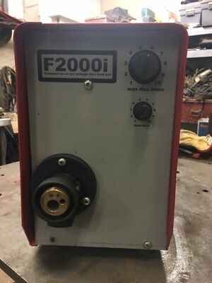 F2000i Compact cc-cv arc voltage wire feed unit Mig Welder Manchester M38 9AP