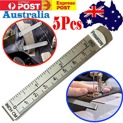 5 x Hemming Clips Measure Pin Hem Marking Ruler Sewing Guides for Wonder Clips