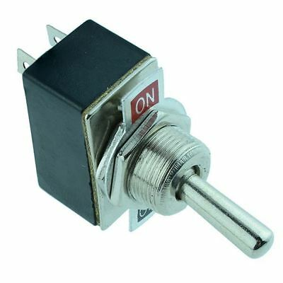 On-Off 2 Position 12mm Toggle Flick Switch SPST 2A 250VAC
