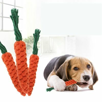 Cute Pet Chew Toy Straw Carrot For Hamster Guinea Rabbit Rat Animal Supplies