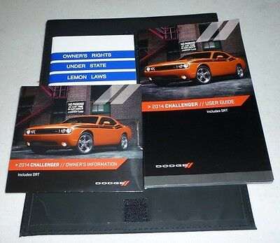 2014 challenger owners manual