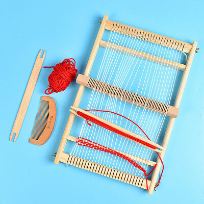 DIY Wood Knitting Weaving Looms Hand Knitting Machine Weaving Stitching Tool