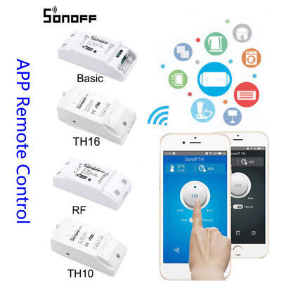 US New Sonoff Smart Home WiFi Wireless Switch Module For IOS Android APP Ctrl IG
