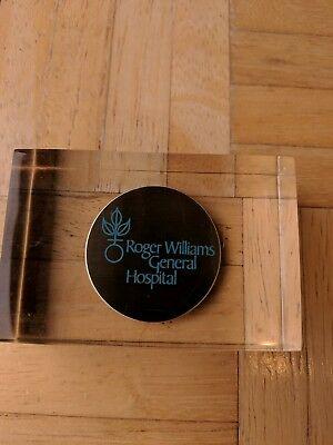 Roger Williams Hospital-Providence, Rhode Island Paperweight-Great Condition
