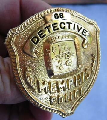 Obsolete Memphis TN Tennessee Detective Police Badge
