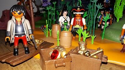 Playmobil 3127 Pirateninsel Schatzinsel Piraten Kannone Eur 2000