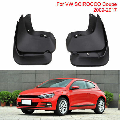 Genuine Set Splash Guards Mud Guards Flaps For VW SCIROCCO Coupe 2009-2017