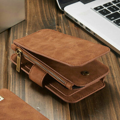 Phones Protective Case Bag Leather Magnet Credit Card Organizer For Iphone PJ