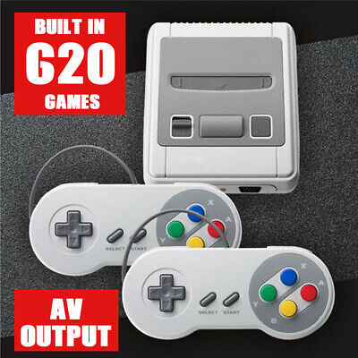 620 Games in 1 Console Retro Mini Classic Video Game Super Console Nintendo AV