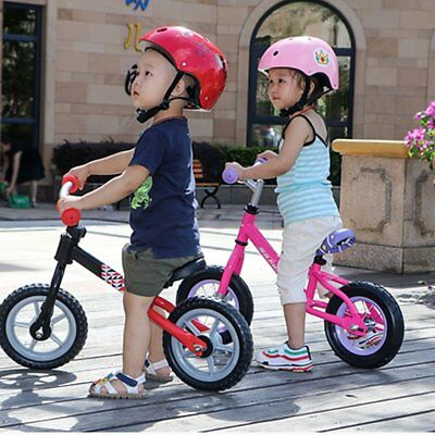 10 inch Children Balance Bike Riding Bicycle No Foot Pedal Walker Riding Toy NS