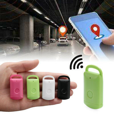 Mini Bluetooth GPS Finder Device Kids Pets Keys Locator  Car Motor Tracker