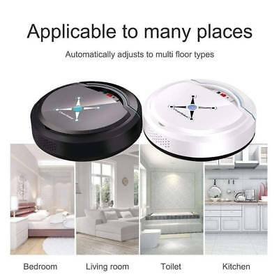 Automatic Self Navigated Smart Robot Vacuum Cleaner Rechargeable Sweeper Clean
