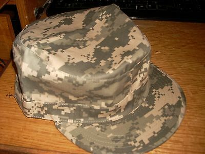 488bf5fcc7300 US ARMY ACU Camo Fatigue Cap Military Hat Rothco 4511 LARGE NEW WITH TAG L