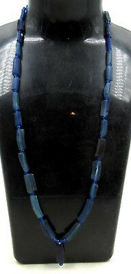Authentic Ancient Roman Era Glass Beaded Necklace - H730
