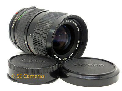 CANON FD 35-70MM F4 MC TELE ZOOM FAST LENS *GOOD CONDITION* AE-1 F1 ect