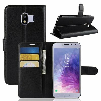 Flip Phone Case Wallet PU Leather Protective Cover For Samsung J7Prime 2/G611FHZ