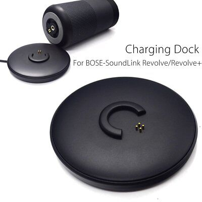 USB Charging Dock Base Cradle Charger For Bose-SoundLink Revolve/Revolve+ XB