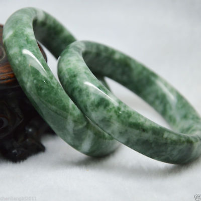 Natural Chinese jade hand-carved bracelet,beautiful bangle 1pc Size:60 - 62mm