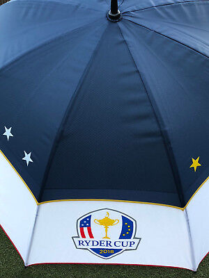 Official Ryder Cup 2018 Double Canopy Golf Umbrella