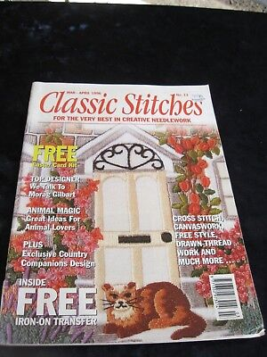 Classic Stitches Needlecraft magazine no. 13 Mar-Apr 1996 Needlecraft