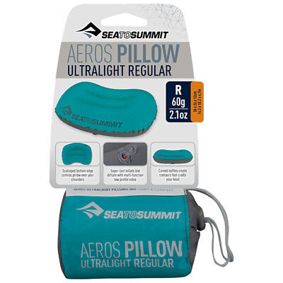 Sea to Summit Aeros Premium Pillow ultraleichtes aufblasbares Reisekissen