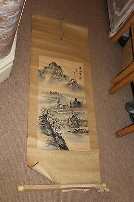 Antique Chinese scroll