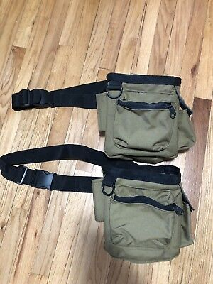 Relic Elite Metal Detector Pouches- Coyote, (2 Pouches for Price of 1)!