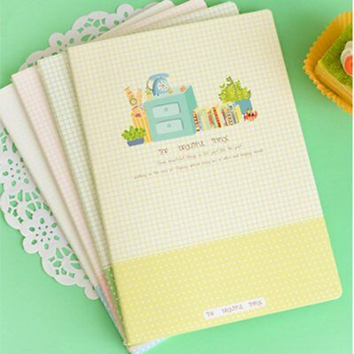 B5 Diary Notebook Cover Paper Cute Notepad Book Unique Stationery Diary Book HA