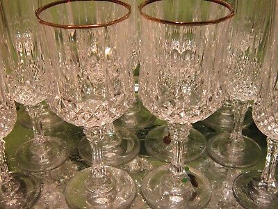 Four Piece Set of Wine and Champagne Stemware