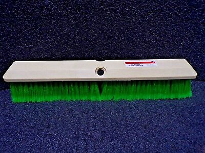 "Synthetic Push Broom, 18"" Sweep Face 3U766(TS)"