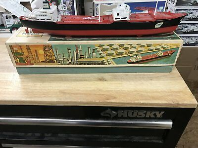 1966 Hess Voyager ship with the box