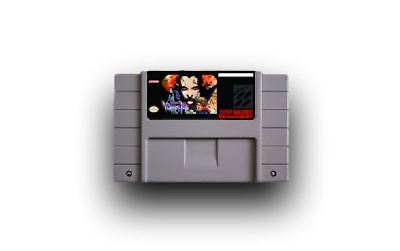 Castlevania Vampire's Kiss Rondo of Blood game For SNES Super Nintendo Cart Only