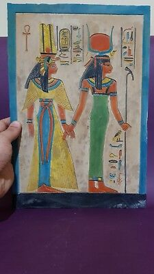 Ancient Egyptian Antiques Egypt Stela Nefertari Tomb And Hathor Egypt Stone BC