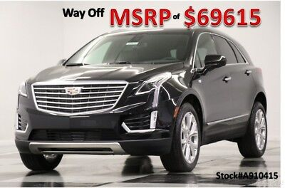 2019 Cadillac XT5 MSRP$69615 XT5 Platinum AWD Remote Start Sunroof New Sunroof Heated Cooled Leather AWD Navigation Surround Vision 18 2018 19