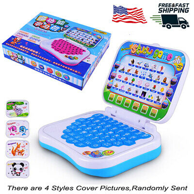 Kids Children Computer Laptop Educational Learning Toys Xmas Gift For Boys Girls