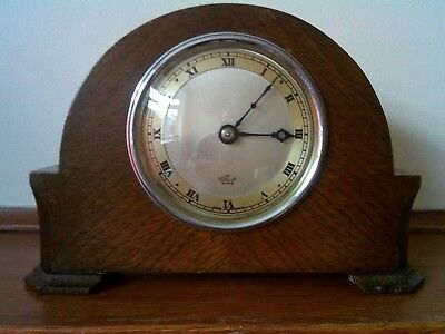 Very early Elliott mantel Clock Pretty small mantle clock good condition.