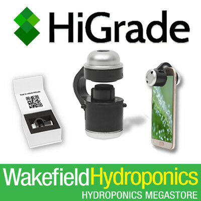 HiGrade Microscope For Plant Analysis Diagnosis Hydroponics Grow Room Essential