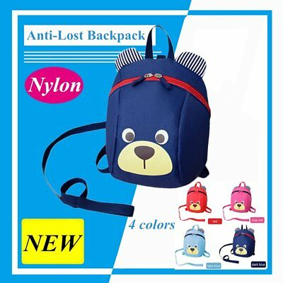Lovely Cute Children Kids Anti-Lost Bag Kindergarten Toddler Backpack Bag GF