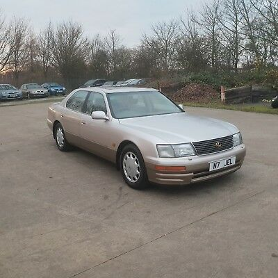 1995 Lexus Ls400 4.0 Petrol Automatic Private Plate N7 Jel Spares Or Repair