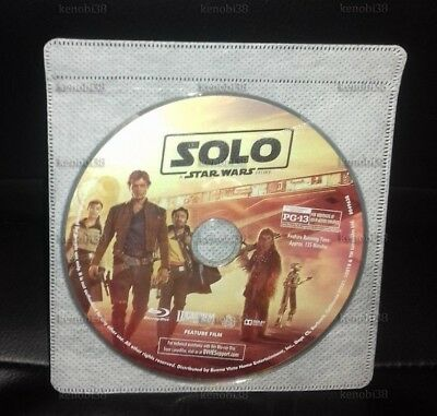 Solo : A Star Wars Story Blu-Ray Disc Only [Usa]