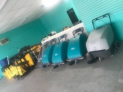 Lot Tennant S8 Walk Behind Sweeper Battery Operated Advance 1328 Capetriever 28