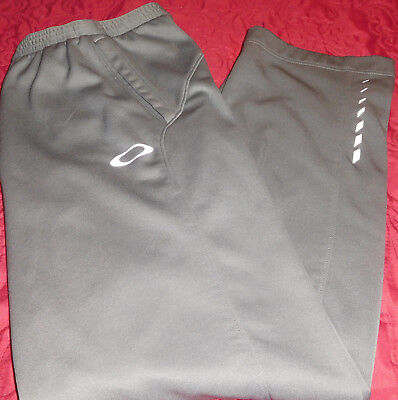 NEW Mens OAKLEY Straight Fit Athletic,Leisure Fleece Interior Warm-up Pant Sz XL