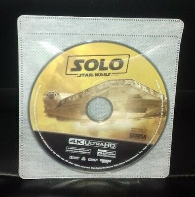 Solo : A Star Wars Story 4K Uhd Disc Only [Usa]