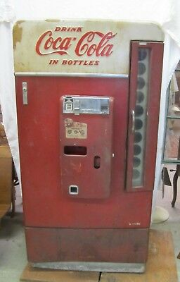 Vtg Vendo H110 Coca Cola Coke Soda Multi Bottle Vending Machine As Is WILL SHIP