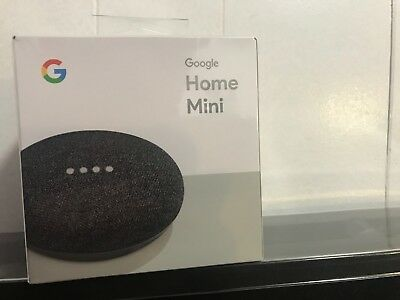 Google Home Mini Smart Speaker- Black or Grey [NEW] Google Mini
