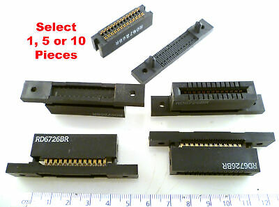 SAE RD6726 BR 26 Way IDC Ribbon Cable Card Edge Connector MBH011L